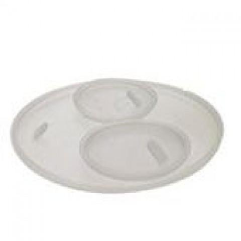 Πιατάκι για βάζο artemis λευκό