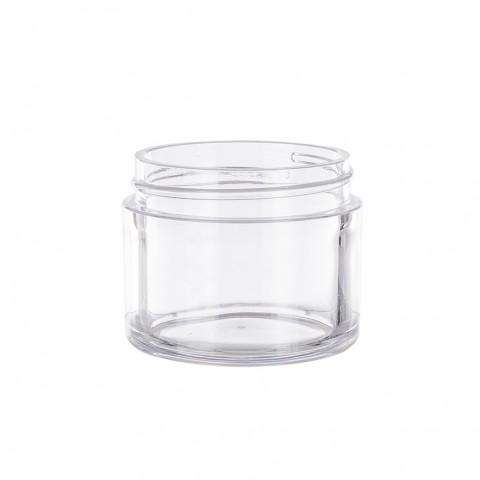 Βάζο Πλαστικό διάφανο (clear) ARTEMIS 50ml