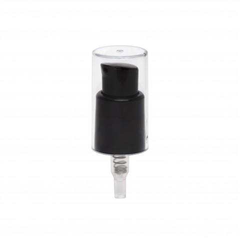 Dispenser 18 C07 μαύρο με διάφανο Overcap