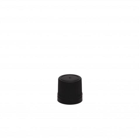Πώμα μαύρο ασφαλείας με Versatore (μειωτής ροής) DIN 18