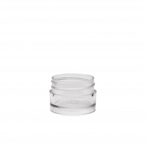 Βάζο πλαστικό διάφανο CYLINDER 5/10ml