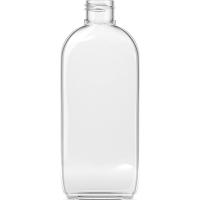 Φιάλη πλαστική pet διάφανη Oval 200ml 24