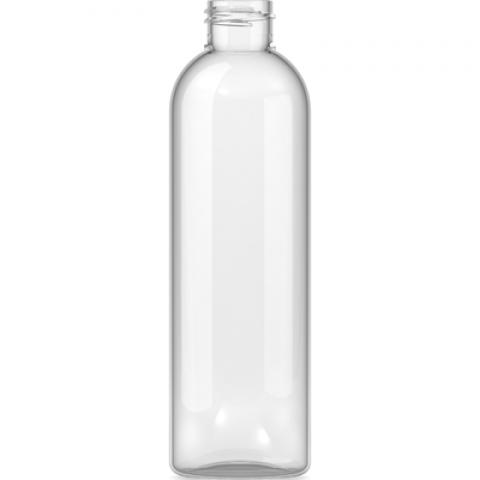 Φιάλη πλαστική pet διάφανη Tall Boston Round 500ml 24