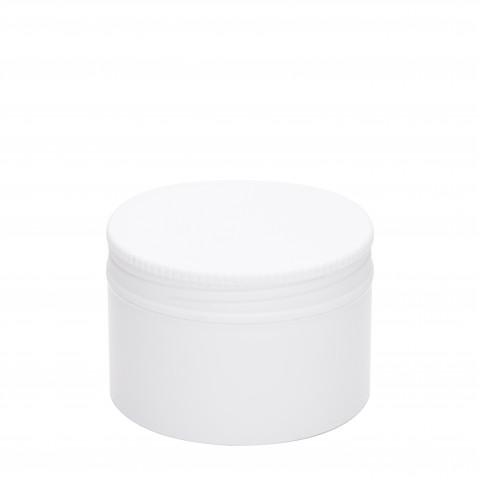 Βάζο πλαστικό ΛΕΥΚΟ FLAT 75ml complete