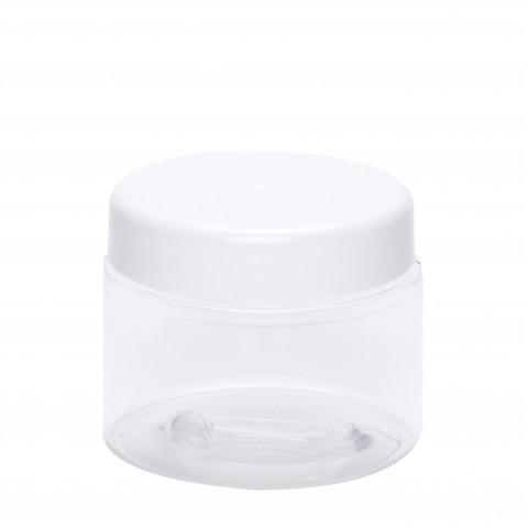 Βάζο πλαστικό petg διάφανο CYLINDER 100ml