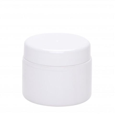 Βάζο πλαστικό petg λευκό CYLINDER 100ml