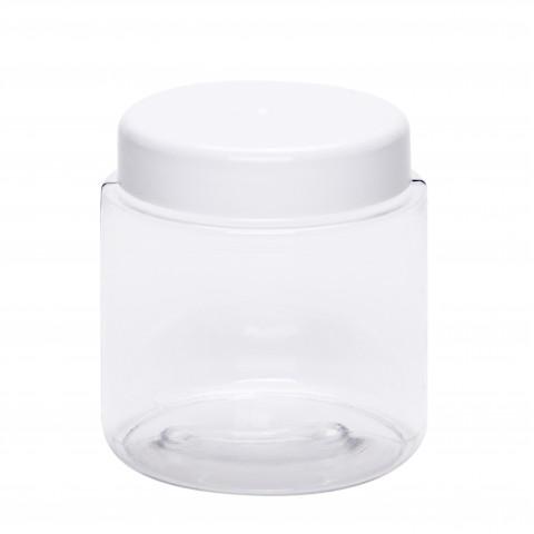 Βάζο πλαστικό petg διάφανο CYLINDER 200ml