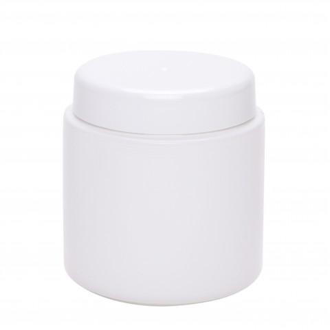 Βάζο πλαστικό petg λευκό CYLINDER 200ml