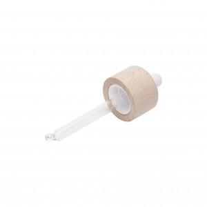 Ξύλινο Σταγονόμετρο Minerbio με Λευκή Φούσκα