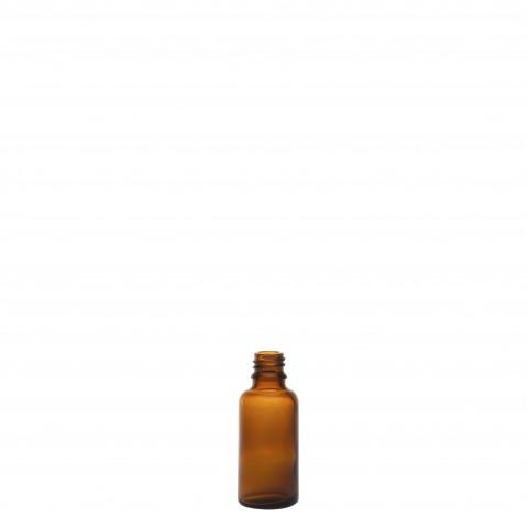 Φιάλη γυάλινη καραμελέ tondo 30ml din18