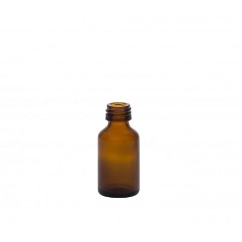 Φιάλη γυάλινη καραμελέ tondo 20ml pp18 (26/92)