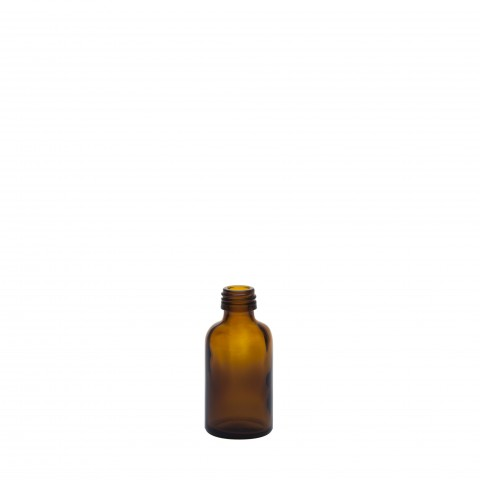 Φιάλη γυάλινη καραμελέ tondo 30ml pp18