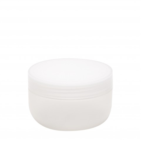Βάζο πλαστικό DAVID natural 250ml με πώμα complete
